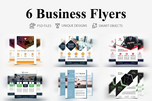 6 Business Flyers