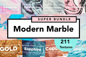 9 in 1 Modern Marble Bundle