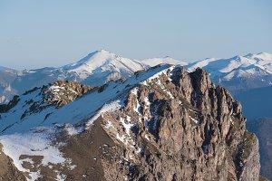 Winter Landscape in Picos de Europa