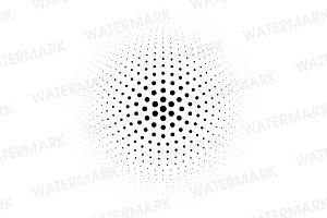 Circle dot halftone
