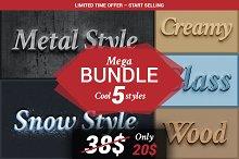 BUNDLE - Cool 5 Styles