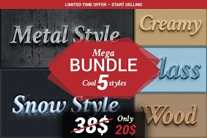 BUNDLE - Cool 5 Styles
