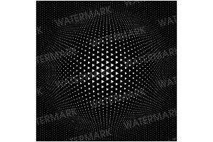 Triangle Halftone Pattern