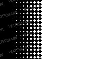 Damond halftone pattern