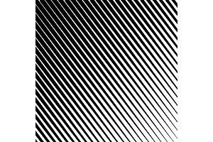 Halftone lines