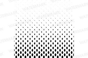 Oval halftone pattern