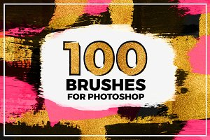 100 Brushes For Photoshop