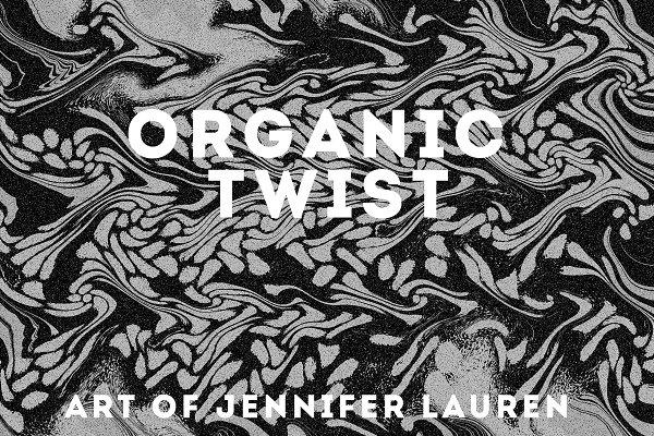 Textures: Jennifer Lauren Creative - Organic Twist