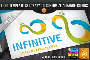 Creative Match Loop 3D Infinity Logo