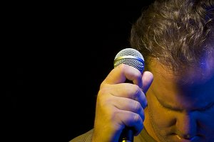 Passionate Vocalist & Microphone