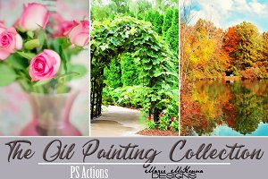 The Oil Painting Collection Actions