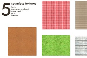 Seamless tileable textures