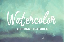 50 Abstract Watercolor Textures