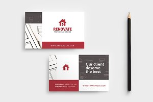 Tradesman Business Card