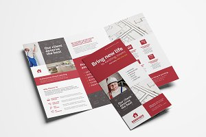 Tradesman Trifold Brochure