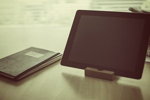 Tablet and notebook