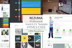 Rezuma | Vcard & CV