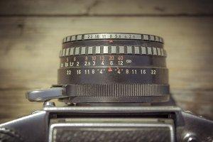 Vintage Camera Lens I