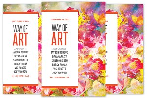 Way of Art Flyer