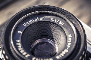 Vintage Camera Lens II