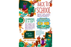 Back to School study poster