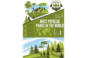 Landscape horticulture infographic