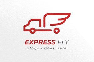 Express Truck - Logo Template