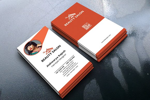 Portrait business card business card templates creative daddy cheaphphosting Images