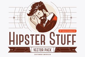 Hipster Stuff - Vector Pack