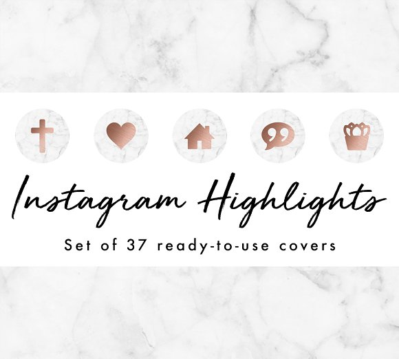 37 Instagram Story Highlight Icons