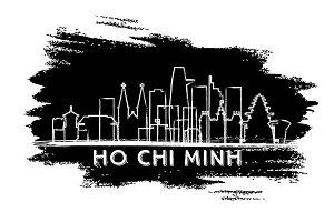 Ho Chi Minh Vietnam City Skyline