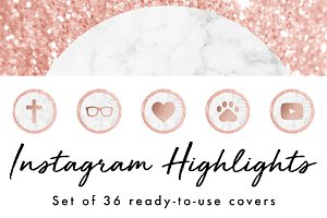 36 Instagram Story Highlight Icons