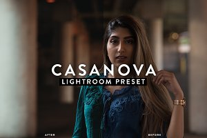 Casanova Moody Portrait Preset