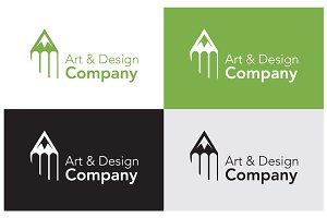 Art design company logo