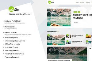 Celestine - WordPress Blog/Magazine