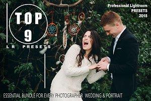 TOP 9 wedding Lightroom Presets