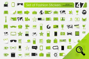 147 FASHION stickers