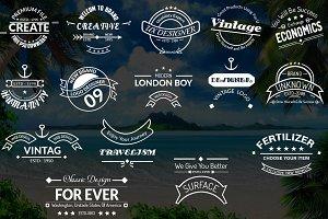 15 Smart Vintage Logos & Badges