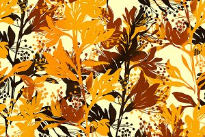 blooming chestnut pattern | JPEG