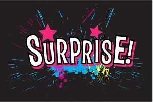 Splashes SURPRISE!