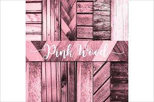 Pink Wood Textures