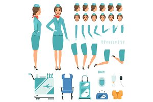 Constructor characters of Stewardess