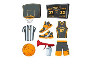 Different sport symbols of
