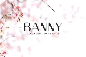 Banny Sans Serif Font Family