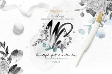 Monograms & bouquets vol.1 Artarian by  in Objects
