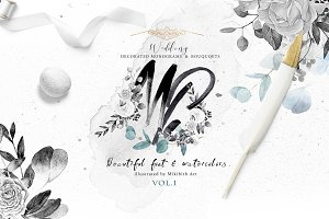 Monograms & bouquets vol.1 Artarian