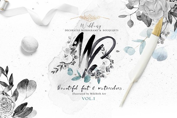 Objects: Mikibith -  Monograms & bouquets vol.1 Artarian