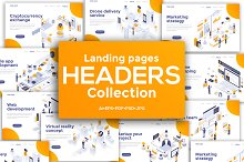 Landing Page templates by  in Web Elements