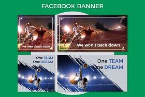 Football Facebook Banner