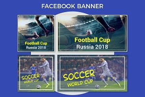 Russia Football Cup Facebook Banner